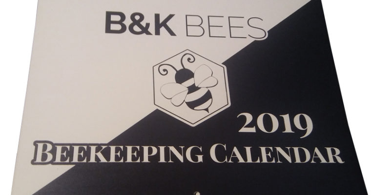 2019 Beekeeping Calendars are here!